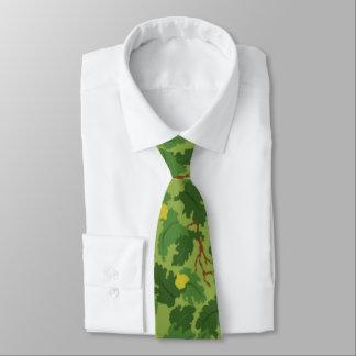 Lazo americano de Camo del verde de la hoja Corbatas
