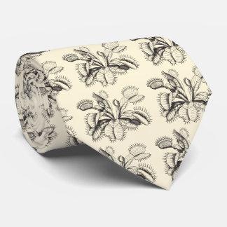 Lazo botánico del vintage del atrapamoscas de corbatas personalizadas