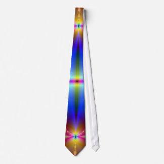 Lazo de la explosión del fractal corbatas personalizadas