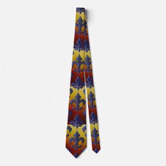 Lazo de la flor de lis corbatas