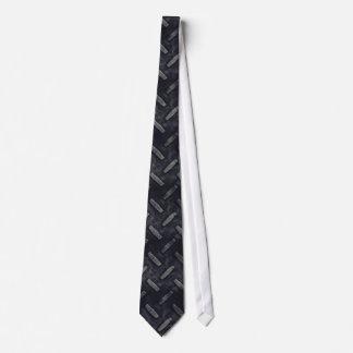 Lazo de la placa del diamante corbatas personalizadas