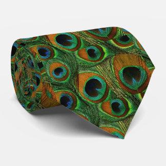 Lazo de la pluma del pavo real de los hombres, corbata personalizada