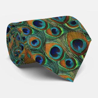 Lazo de la pluma del pavo real de los hombres, corbatas