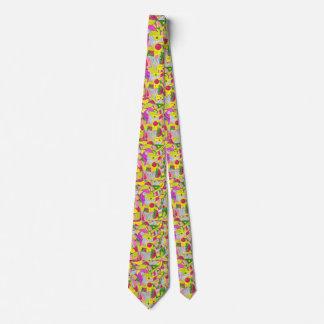 Lazo de la selva del color corbata