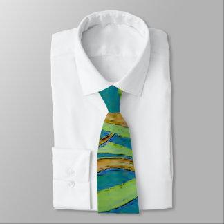 Lazo de las ondulaciones del verano corbata personalizada
