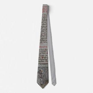 Lazo de Liechtenauer Zettle Corbatas