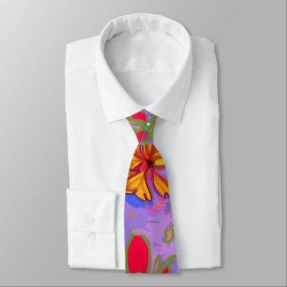 Lazo de oro grande de la floración corbatas personalizadas