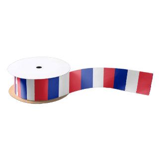 Lazo De Raso Bandera de la cinta de Francia