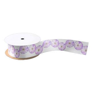 Lazo De Raso Floración púrpura
