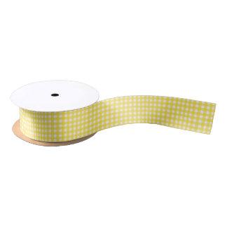 Lazo De Raso Modelo amarillo soleado bonito de la guinga