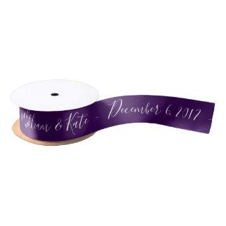 Lazo De Raso Personalizado casando la cinta elija la cinta del