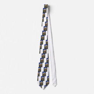 Lazo de St Francis, pegatina, etiqueta del mascota Corbatas Personalizadas