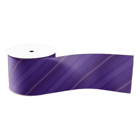 Lazo De Tela Gruesa Cinta púrpura oscura del modelo de las rayas