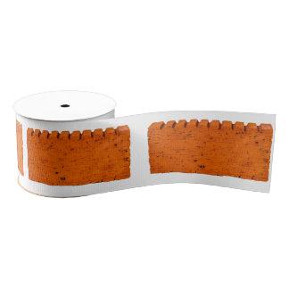 Lazo De Tela Gruesa Ladrillo anaranjado - átomo de la creación