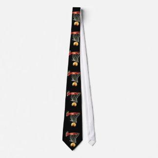 Lazo del baloncesto corbatas personalizadas