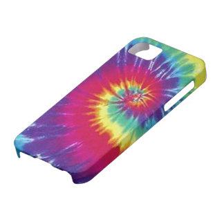 Lazo del cielo del Hippie teñido iPhone 5 Case-Mate Protector