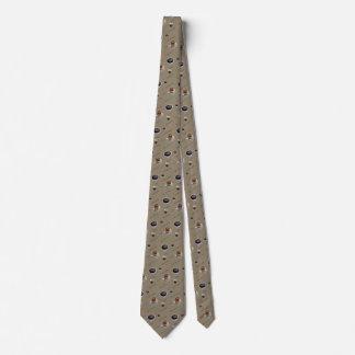 Lazo del descanso para tomar café corbata personalizada