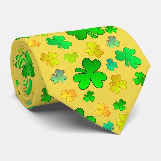 Lazo del día de St Patrick del trébol Corbatas