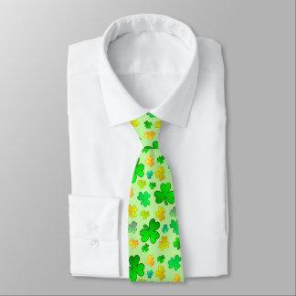 Lazo del día de St Patrick del trébol Corbatas Personalizadas