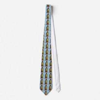 Lazo del loro del Amazonas Corbata Personalizada