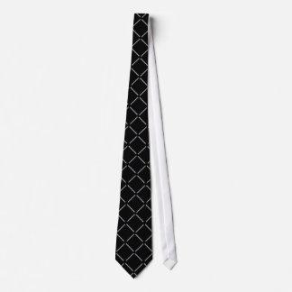 Lazo del modelo de la forma del diamante negro corbatas