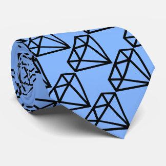 Lazo del modelo del diamante corbatas