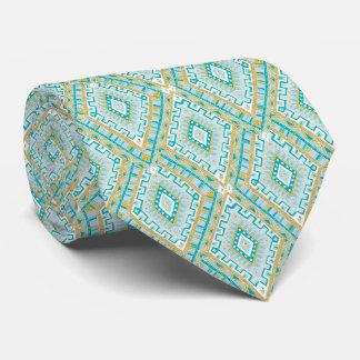 Lazo del modelo del diamante de las azules corbatas personalizadas