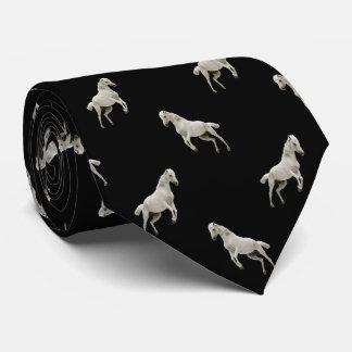Lazo del modelo del diamante del caballo blanco corbatas