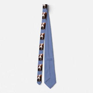 Lazo del perro de aguas de saltador galés corbatas