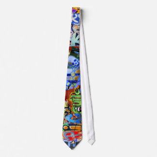 Lazo ÉPICO de los trenes de la pintada Corbata Personalizada