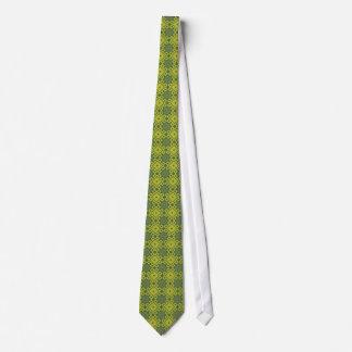 Lazo francés de los asteres - diamantes verdes corbatas personalizadas