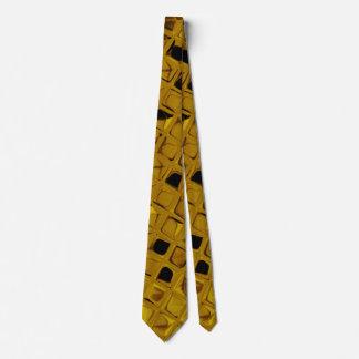 Lazo metálico brillante de los espejos del corbata personalizada