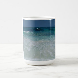 Lazo mexicano de la playa taza clásica