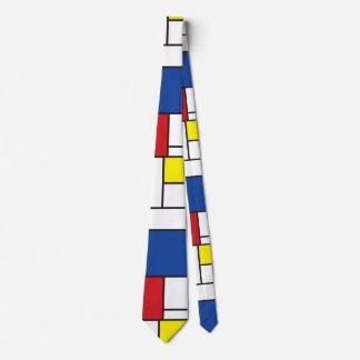 Lazo minimalista simple del arte moderno de corbata personalizada