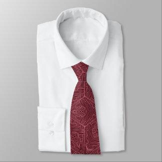 Lazo morado corbata personalizada