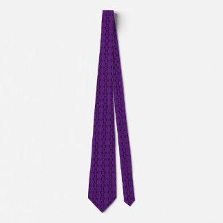 Lazo púrpura del cordón corbatas