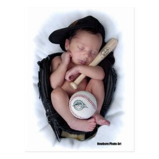 Lazo recién nacido del bebé del baloncesto postal