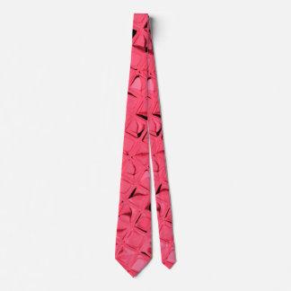 Lazo rojo metálico brillante de los espejos del corbata personalizada
