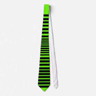 Lazo salvaje de la raya (cal loca) corbatas personalizadas