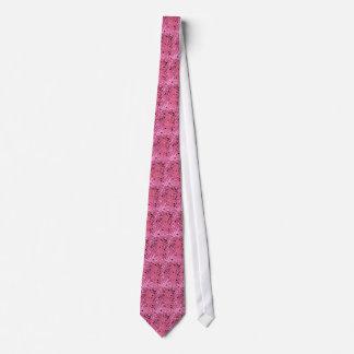 Lazo tejado espejos rosados metálicos brillantes d corbata personalizada