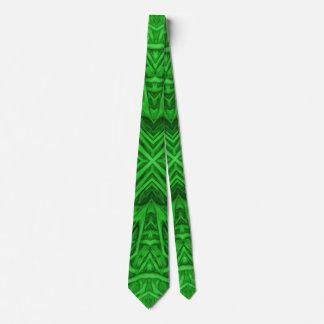 Lazos coloridos del caleidoscopio céltico del corbata personalizada