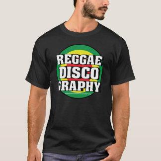 Lazos de la discografía del reggae camiseta