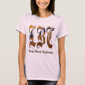 LBC - Long Beach California - océano Camiseta