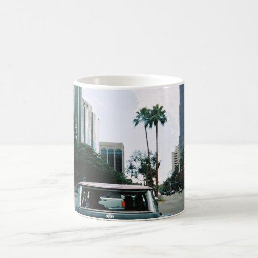 LBC - Long Beach, California Tazas De Café