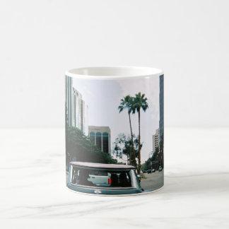 LBC - Long Beach, California Taza Básica Blanca