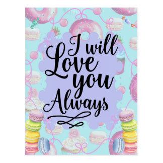 Le amaré siempre - los buñuelos del sweetshop postal