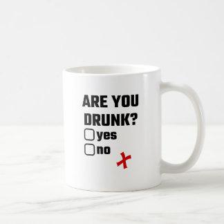 ¿Le beben? Sí ningún Taza De Café