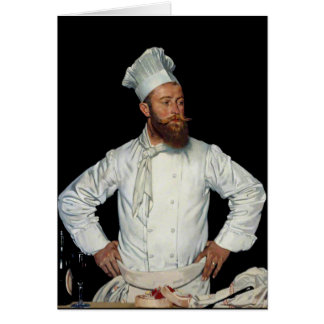 Le Chef por Orpen Felicitación