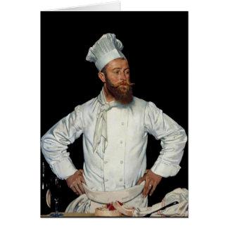 Le Chef por Orpen Tarjeta Pequeña