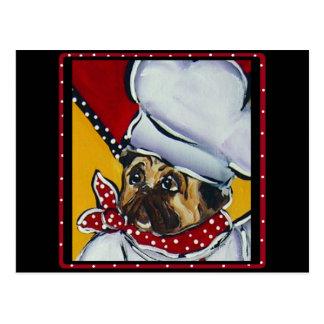 Le Chef Pug Postal